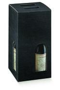 Weinkarton 4 Fl. schwarz : Verpackung fur flaschen und regionalprodukte
