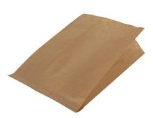 Krafttüte braun gerippt für Lebensmittel : Verpackung für bäkerei konditorei