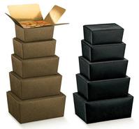 Ballotin Innen gold beschichtet : Geschenkschachtel präsentbox