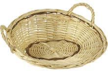 Präsentschale Weide rund : Korb geschenkkorb präsentierungskorb