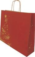 Krafttasche rot Weihnachtsglanz : Recherche
