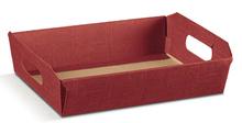 Präsentkorb Pappe 31x22xH9cm  : Korb geschenkkorb präsentierungskorb