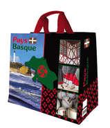 Shopper Einkaufstasche 33L PP gedruckt 'Pays Basque-Bearn' : Ladentaschen einkaufstaschen modetaschen