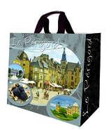 Shopper Einkaufstasche 33L PP gedruckt 'Perigord' : Ladentaschen einkaufstaschen