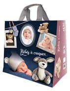 Shopper Einkaufstasche 30L PP gedruckt 'Babys' : Ladentaschen einkaufstaschen