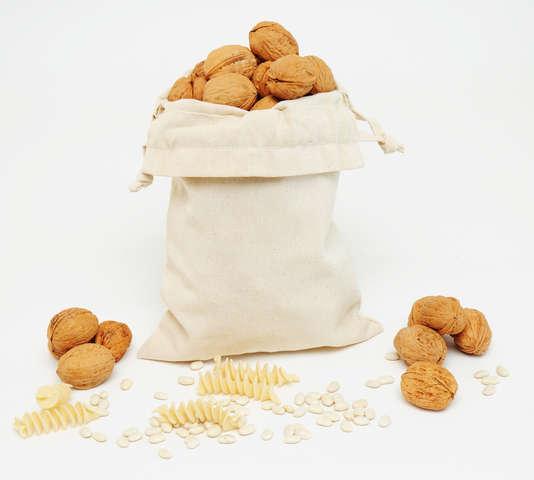 Obst- & Gemüsesäckchen Baumwolle : Verpackung für bäkerei konditorei