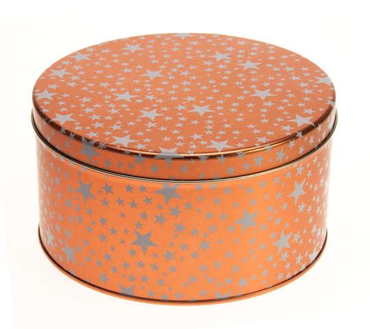 Metallbox rund ELEGANZ : Geschenkschachtel präsentbox