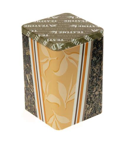 Metallbox für Tee 'TEATIME' : Geschenkschachtel präsentbox