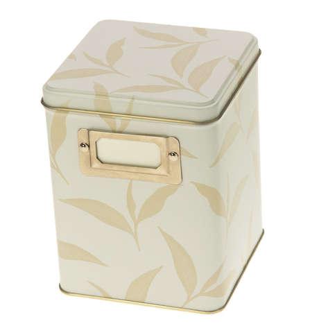 Metallbox für Tee : Geschenkschachtel präsentbox