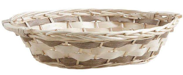 Weidenkorb hell oval : Korb geschenkkorb präsentierungskorb