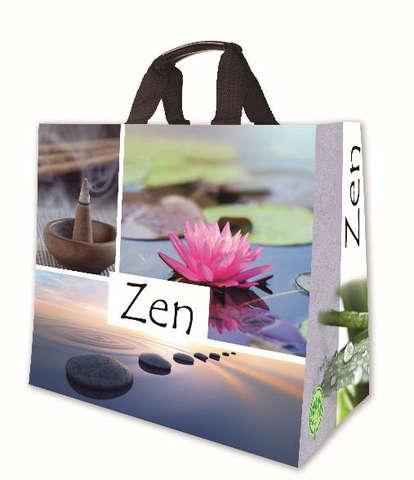 Shopper PP 30L. 'Zen' : Ladentaschen einkaufstaschen modetaschen