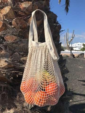 Sac filet coton : Ladentaschen einkaufstaschen