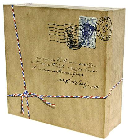 """Boite carrée """"Cottage"""" : Geschenkschachtel präsentbox"""