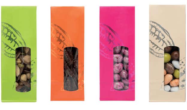 SOS Sachet Cabosse 4 couleurs : Verpackung für bäkerei konditorei