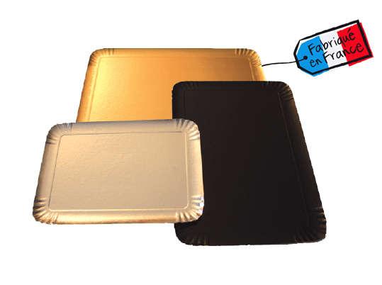 Plateau traiteur Or - Noir - Argent : Geschenkschachtel präsentbox