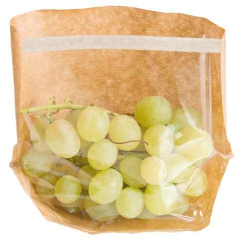 Sachets avec base et fenêtre auto fermeture 'turtle pack' : Ladentaschen einkaufstaschen