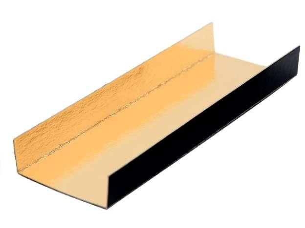 Fond plié Or/Noir 380 Gr/m² : Geschenkschachtel präsentbox