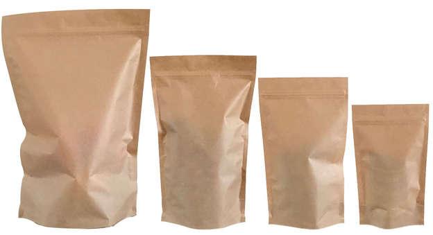 Doypack Standbeutel Kraftpapier : Verpackung für bäkerei konditorei
