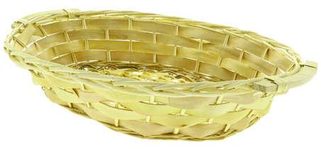 Corbeille en bois bord éclisse : Korb geschenkkorb präsentierungskorb