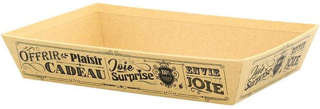 """Corbeille """"Vintage beige"""" : Korb geschenkkorb präsentierungskorb"""