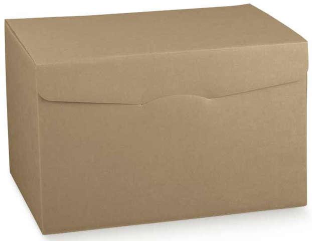 Flaschenkarton Kraft 4-eckig 6-Flaschen liegend : Verpackung fur flaschen und regionalprodukte
