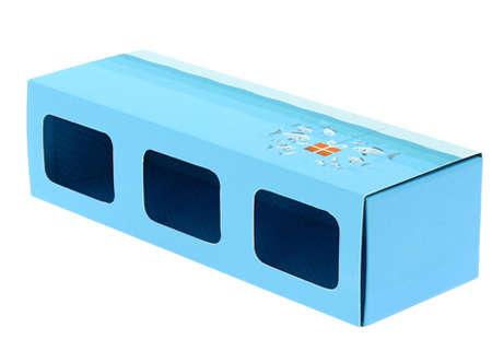 Fourreau 3x180 grs  : Verpackung für glasbehälter konfitürenglas preserve