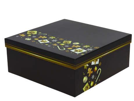 Boite carrée Cado  : Geschenkschachtel präsentbox