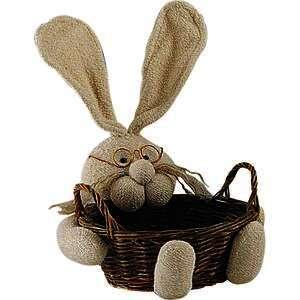 Corbeille lapin en osier  : Korb geschenkkorb präsentierungskorb