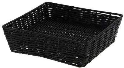Corbeille Square noire : Korb geschenkkorb präsentierungskorb