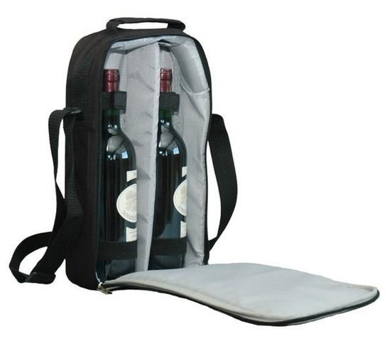 Flaschentasche 2-Flaschen m. Stoßschutz : Verpackung fur flaschen und regionalprodukte