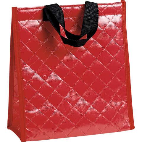 Sac isotherme rectangle rouge  : Ladentaschen einkaufstaschen modetaschen