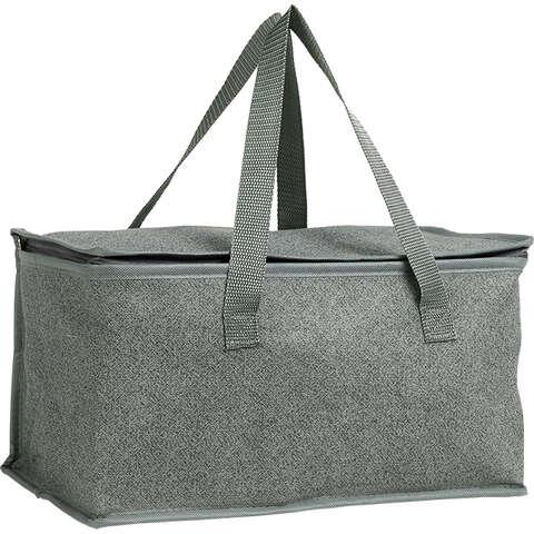 Sac isotherme rectangle gris : Ladentaschen einkaufstaschen