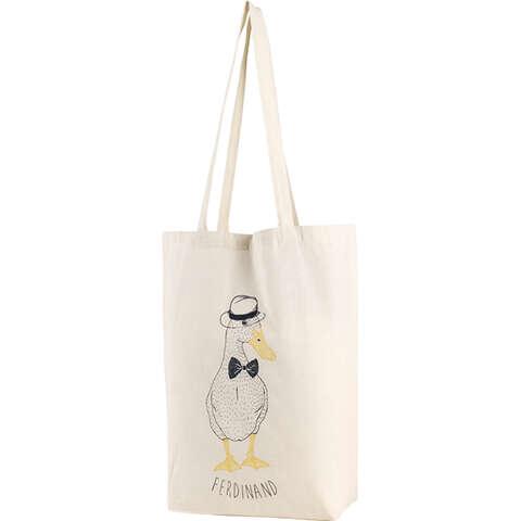 """Sac coton décor canard """"Ferdinand"""" : Ladentaschen einkaufstaschen modetaschen"""