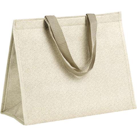 Sac isotherme rectangle beige : Ladentaschen einkaufstaschen