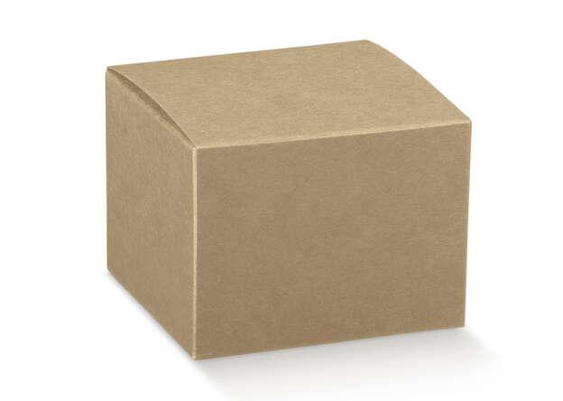 Karton 4-eckig Pappschachtel m. Deckel 'Avana' : Geschenkschachtel präsentbox