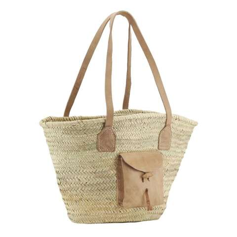 Sac en palmier naturel  : Ladentaschen einkaufstaschen modetaschen