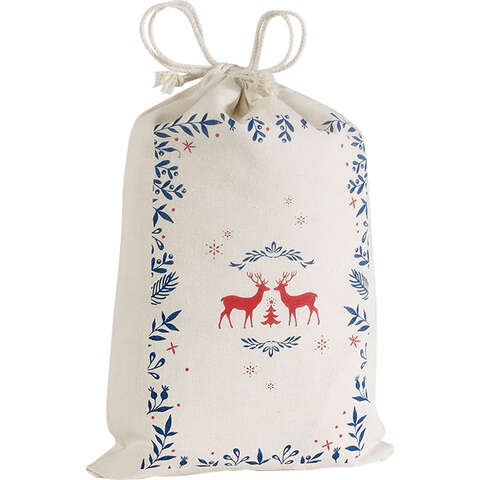 Säckchen Baumwolle 'Winter' : Verpackung für bäkerei konditorei