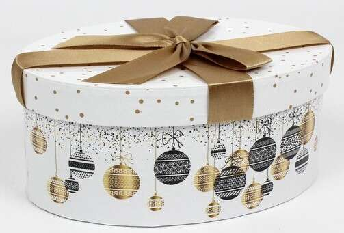 Boite cadeau Noël : Geschenkschachtel präsentbox