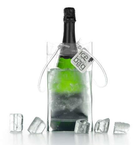 Ice Bag Mini Clear 1-Flasche 50/ 75 cl. : Verpackung fur flaschen und regionalprodukte