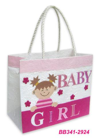 Geschenktasche Handkraft Baby Girl : Ladentaschen einkaufstaschen modetaschen