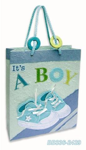Geschenktasche Handkraft Baby Boy : Ladentaschen einkaufstaschen