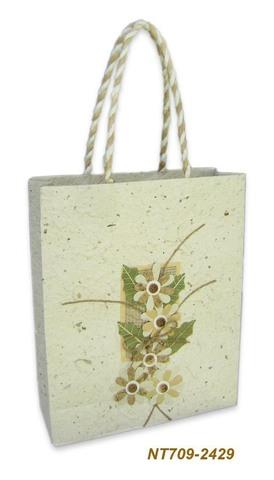 Geschenktasche Handkraft Natur : Ladentaschen einkaufstaschen