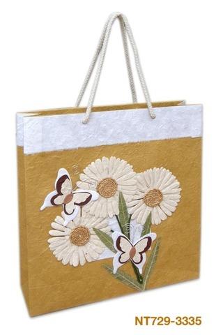 Geschenktasche Handkraft Schmetterlinge : Ladentaschen einkaufstaschen