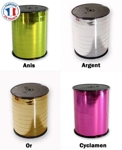 Rolle Ringelband Poly metallic : Verpackungzubehör