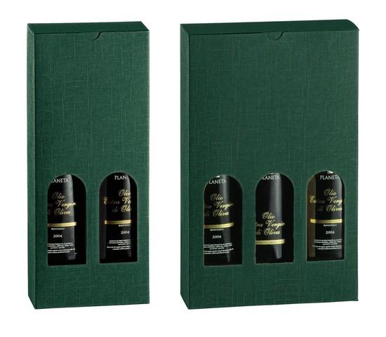 Geschenkkarton 2/3 Flaschen 75/100 cl H.32 cm : Verpackung fur flaschen und regionalprodukte