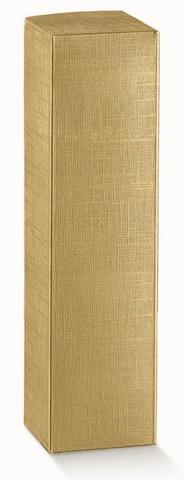 Geschenkkiste Gold 1-Flasche Magnum : Verpackung fur flaschen und regionalprodukte