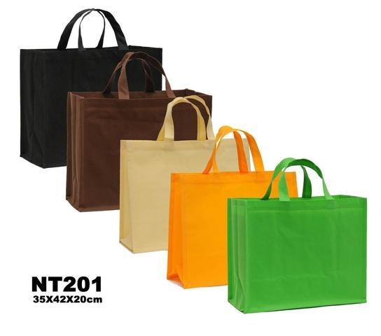 Grosse Shopping-Tasche Vlies 35x42x20 cm : Ladentaschen einkaufstaschen modetaschen