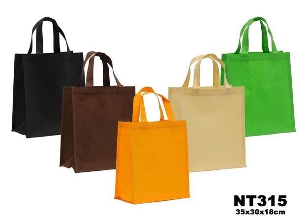 Shopping Tasche Vlies 35x30x18 cm : Ladentaschen einkaufstaschen modetaschen