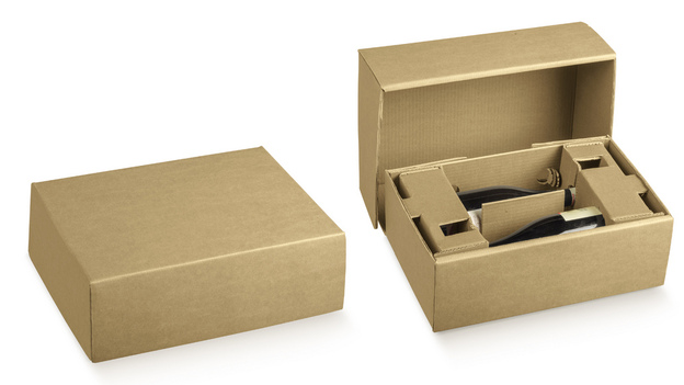Versandkarton Pappe individualisierbar : Geschenkschachtel präsentbox