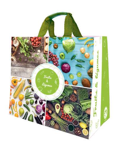 Shopper Einkaufstasche 30L PP gedruckt Obst u. Gemüse : Ladentaschen einkaufstaschen